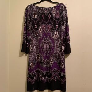 Muse Dresses - ⭐️10/$25 Muse Stretch Purple Shift Dress | Size 8